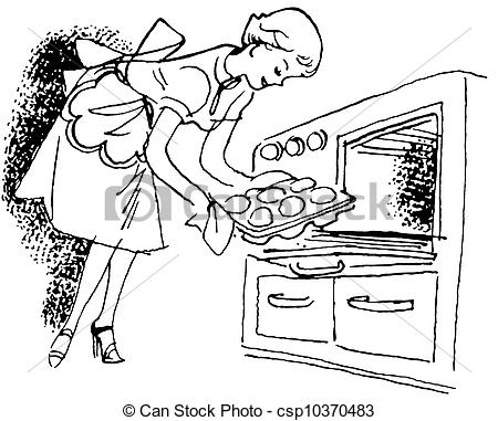 Oven Black And White Clipart Clipart Suggest
