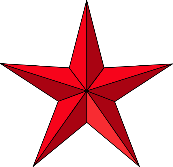 Christmas star black and white clipart suggest