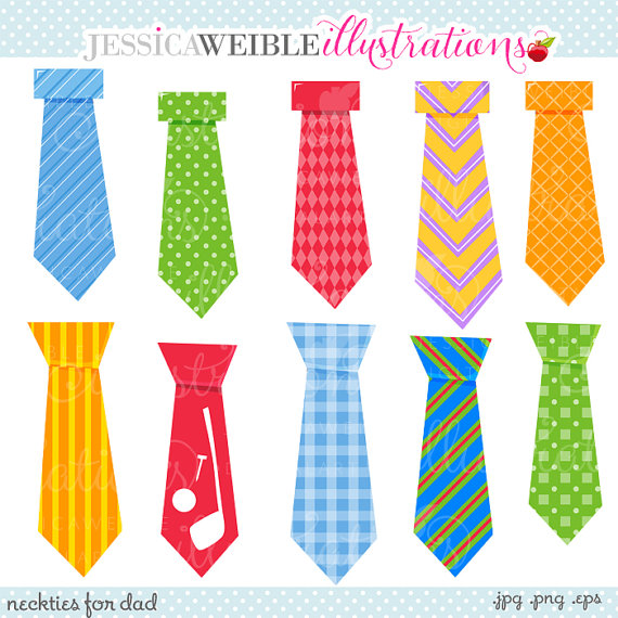 Clipart   Commercial Use Ok   Tie Clipart Tie Graphics Fathers Day