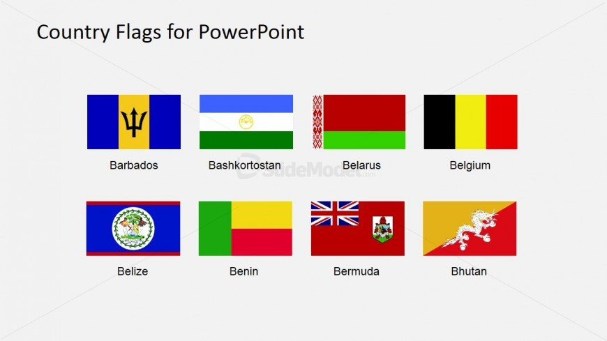 Country Flag Clipart Powerpoint Presentation   Slidemodel