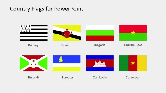 Country Flags Clipart For Powerpoint  C To D  Country Flags Clipart