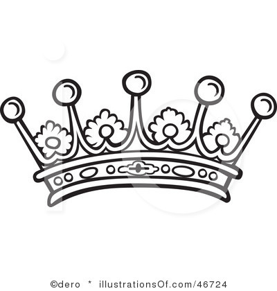 Crown Clipart Black And White   Clipart Panda   Free Clipart Images