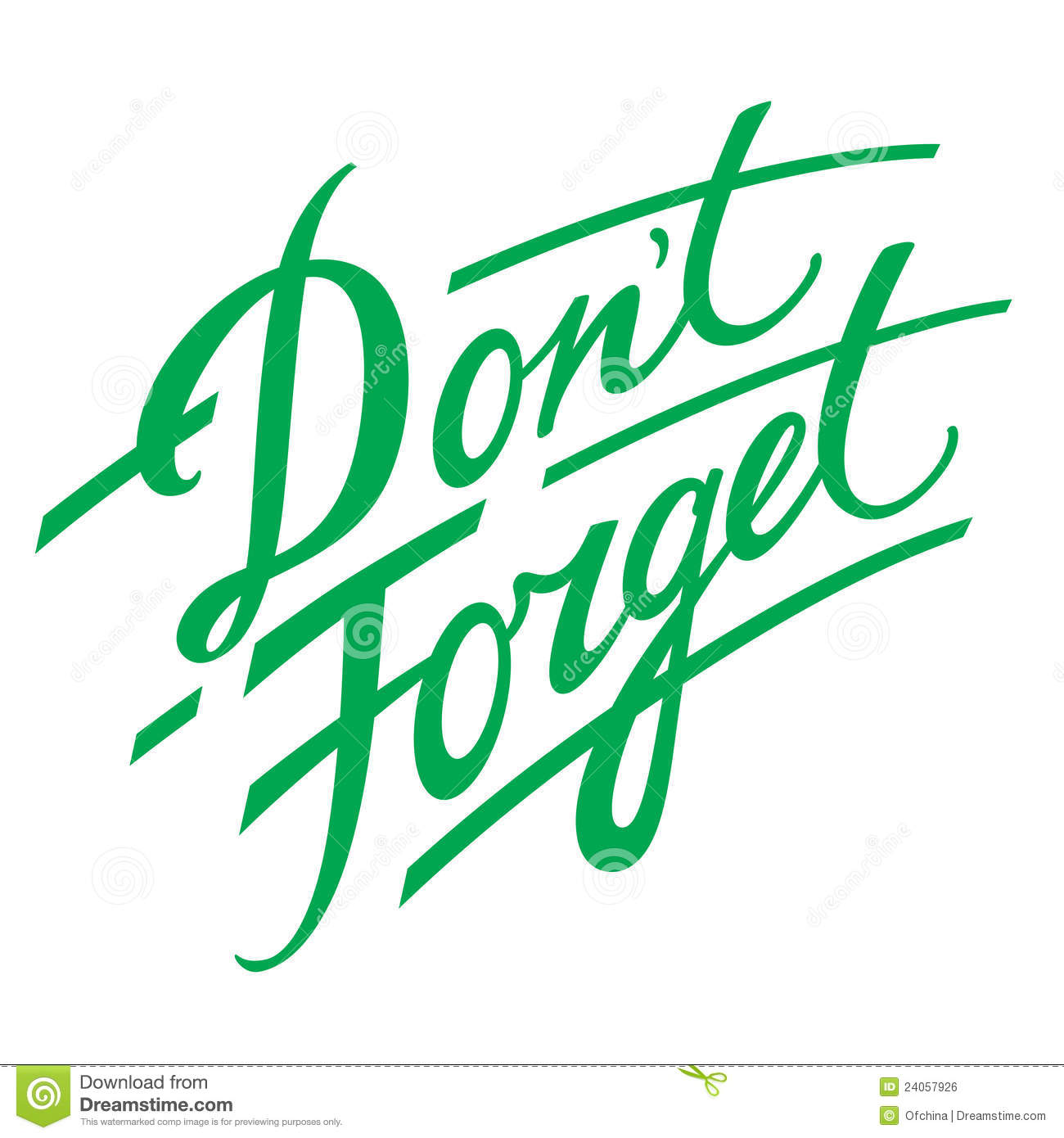 Remember Clipart Don't Forget Finger Cl...