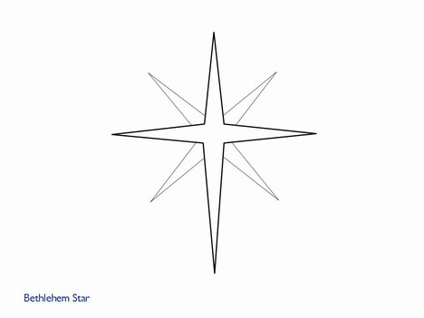 Clip Art Christmas Star Clip Art christmas star black and white clipart kid even more clip art powerpoint template slide2