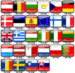 Flags Of Europe Clipart   Royalty Free Public Domain Clipart