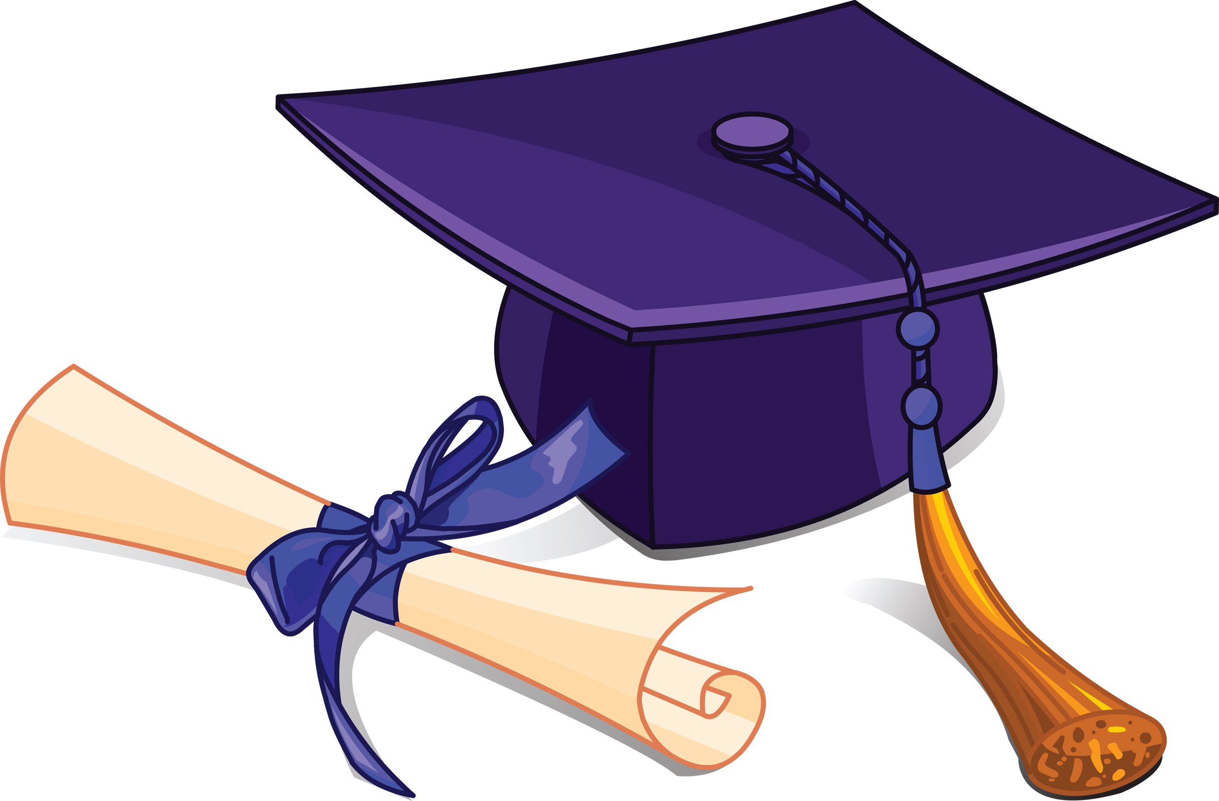 Image result for junior high graduation clipart png