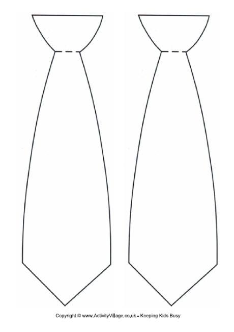 tie outline clipart clipart suggest