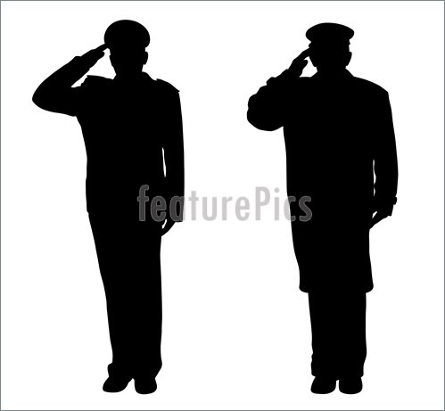Illustration Of Saluting    Vector Clip Art To Download At Featurepics
