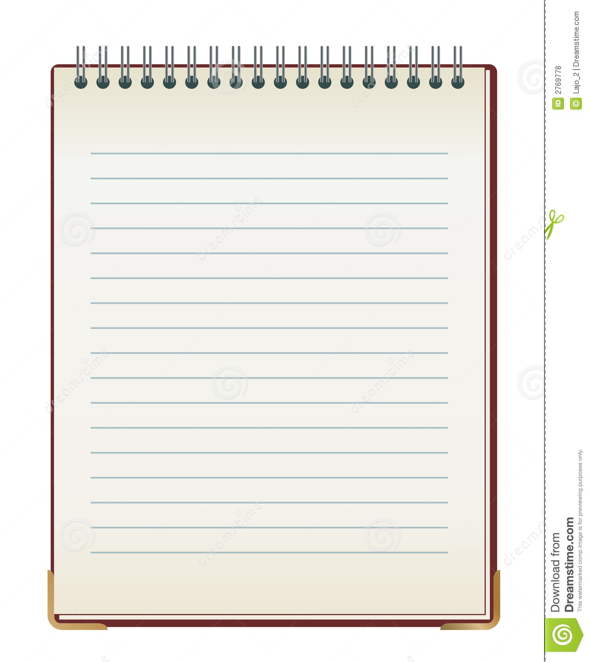 Pad Paper Clip Art | Free | Download