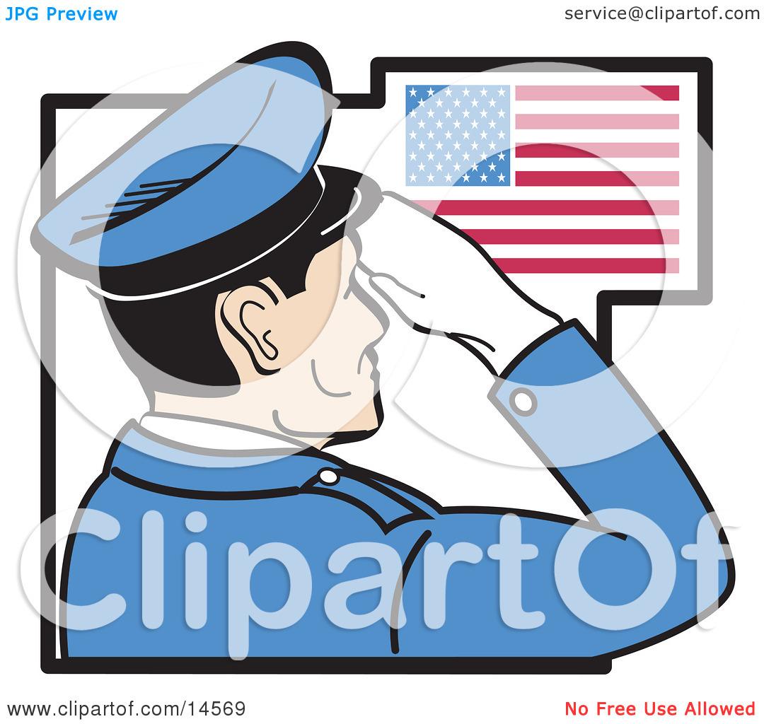 Air Force Salute Clipart - Clipart Kid