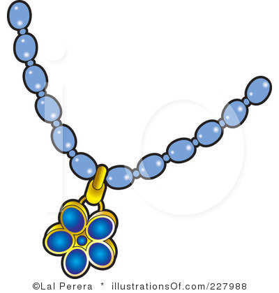 Necklace Clipart Royalty Free Necklace Clipart Illustration 227988 Jpg