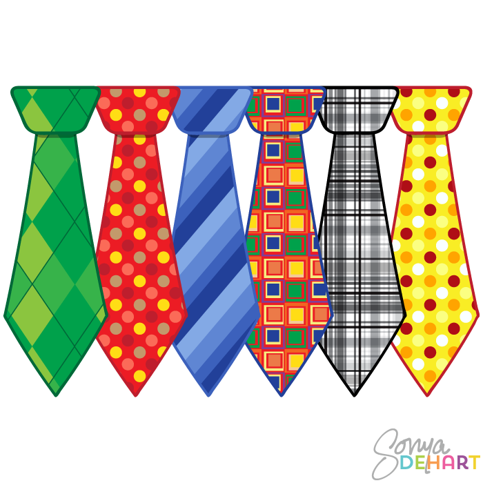 Father's Day Tie Clipart - Clipart Kid