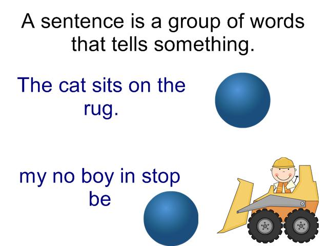Sentences Clipart Day 2  What Does A Sentence