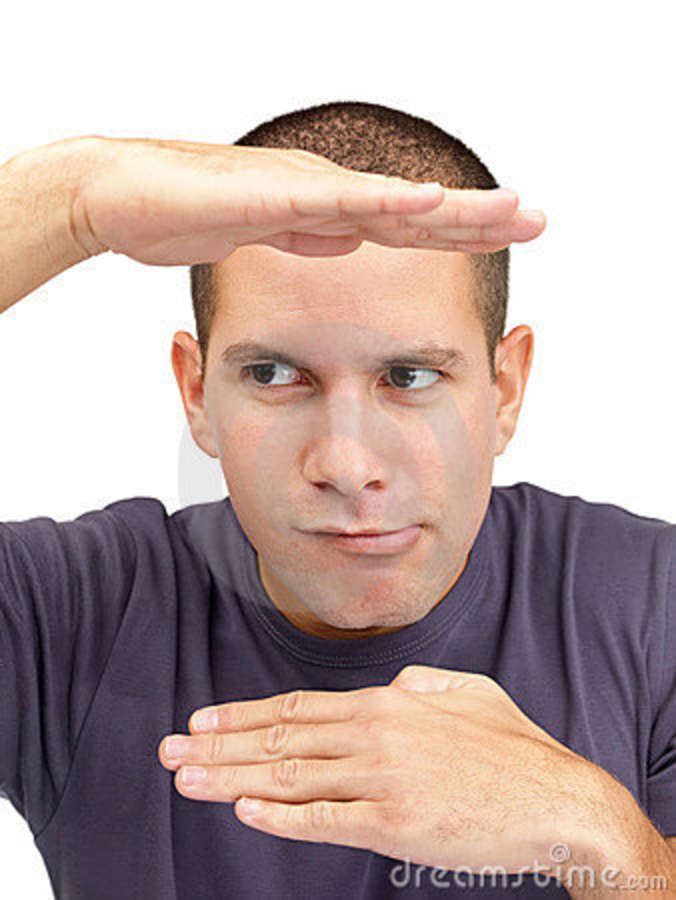 Stock Photos  Silly Young Man Looking Away  Image  16451433