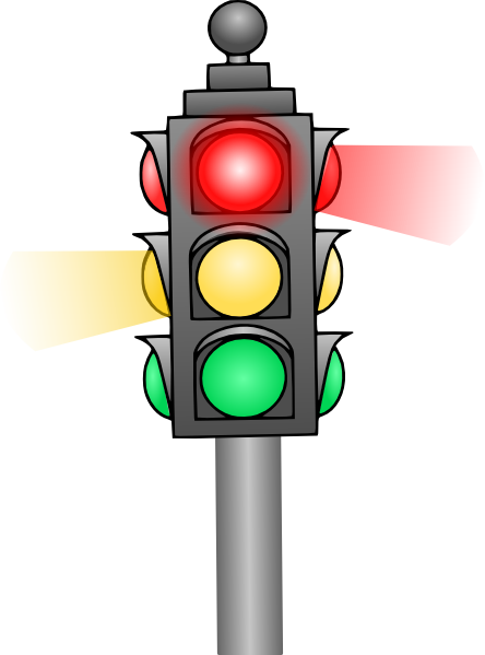 Traffic Light Clip Art At Clker Com   Vector Clip Art Online Royalty