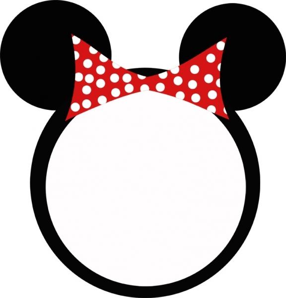 Minnie Ears Clipart - Clipart Kid