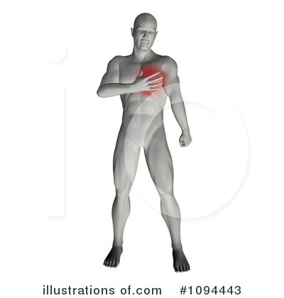 Chest Pain Clipart Royalty Free  Rf  Pain Clipart