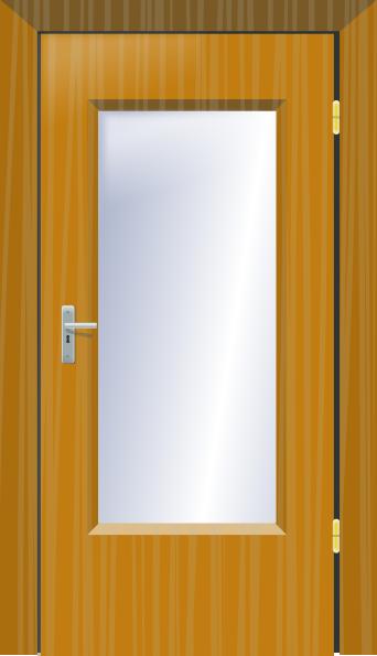 Shut the door clipart clipart suggest for Art glass windows and doors