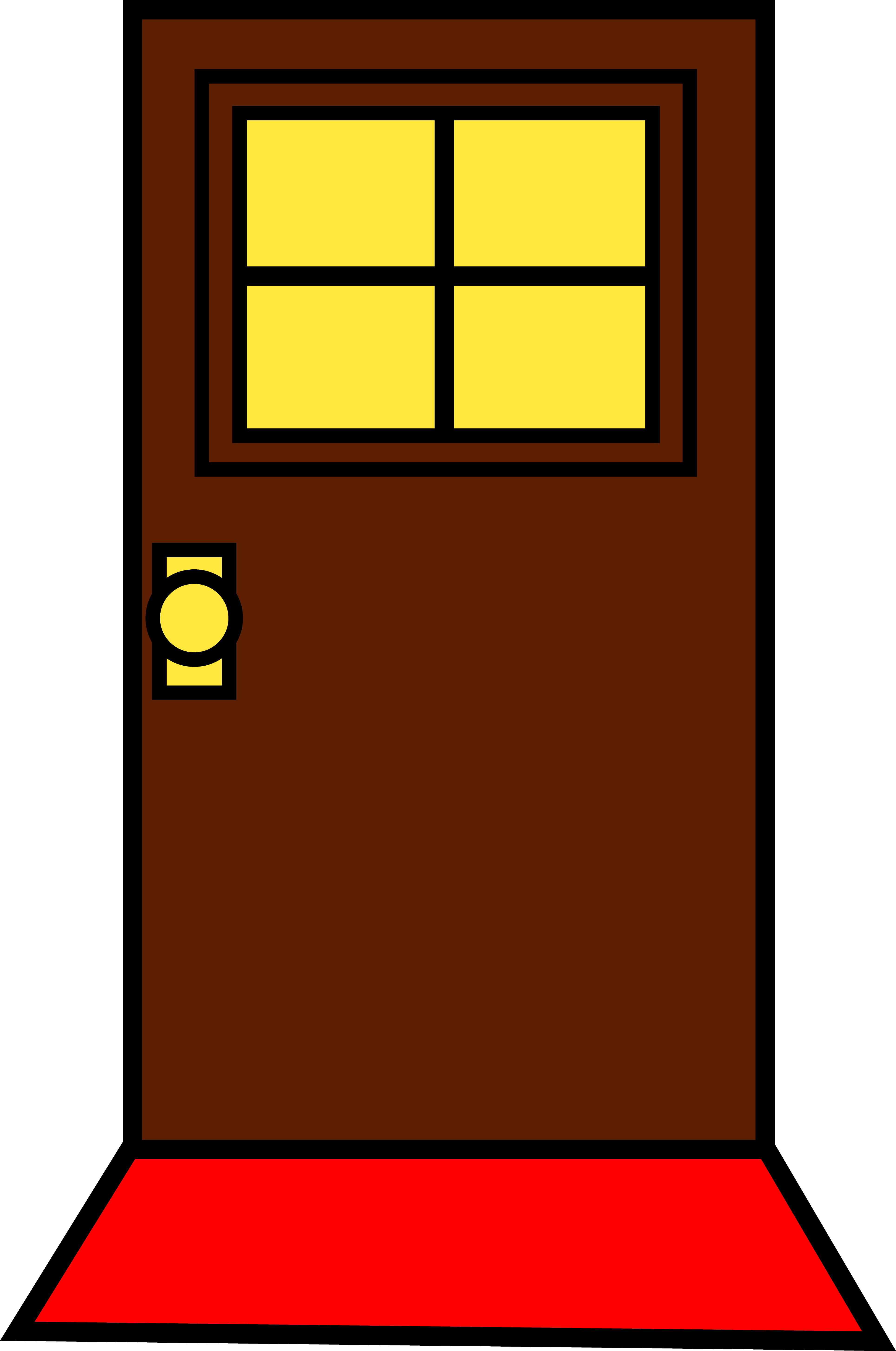 Open door clipart clipart suggest - Locked door clipart ...
