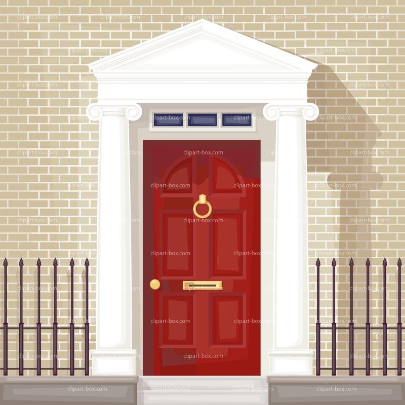 Clip art cartoon fancy door clipart clipart suggest for Door design art