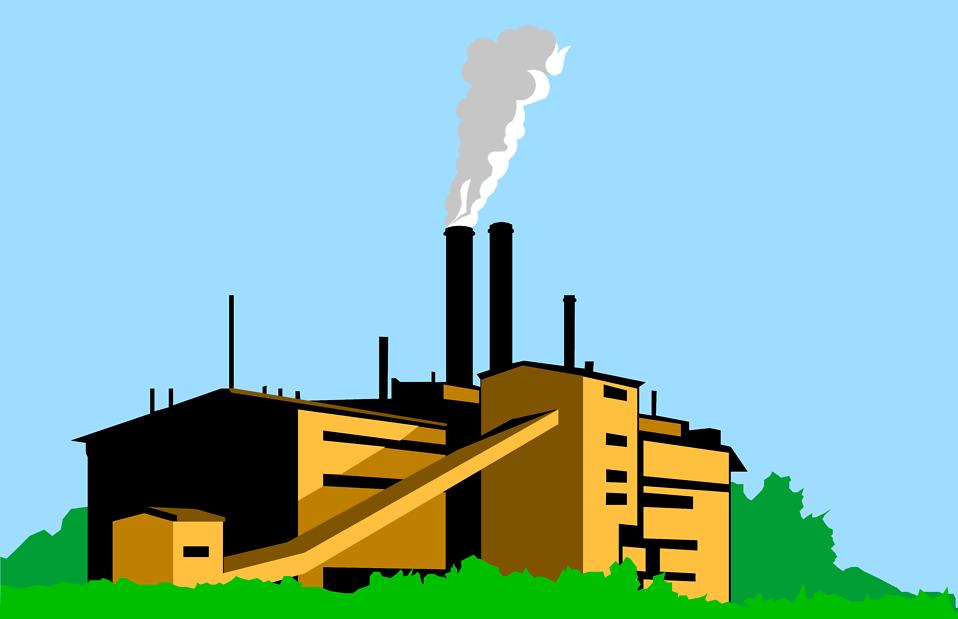 Coal Factory Clipart - Clipart Kid