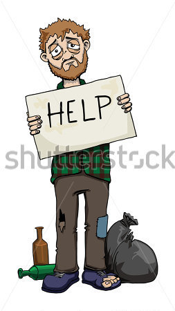 Source   Http   Fr Clipart Me Premium People Homeless Man Holding Help