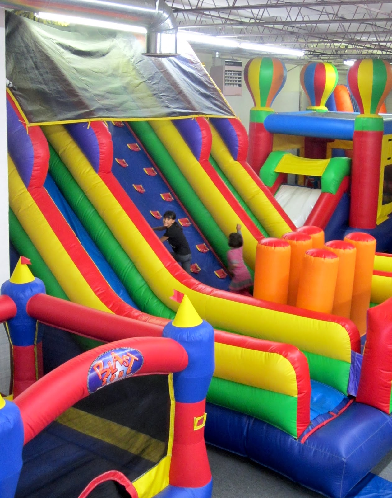 The Diary Of A Nouveau Soccer Mom  House Of Bounce  Colorado Outings