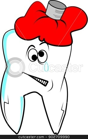 Bad Teeth Clipart Bad Sore Tooth With Ice Bag