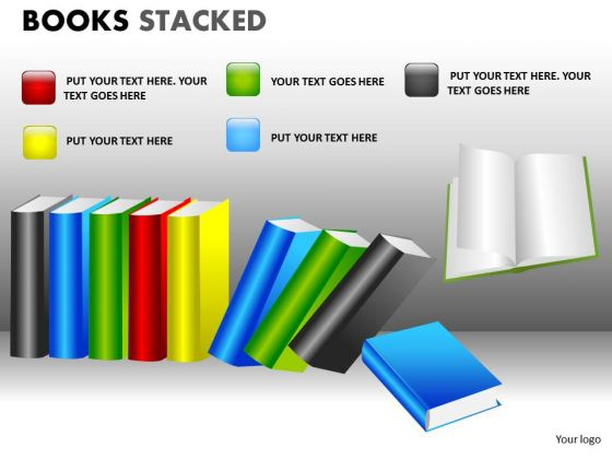 Book Powerpoint Clipart Graphics Slides