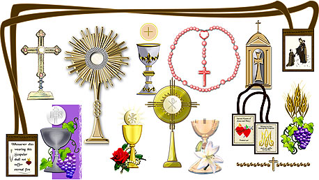 First Holy Communion Clip Art - Synkee