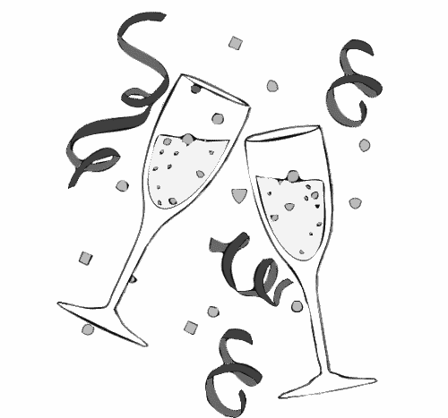 Champagne Glasses 6   Http   Www Wpclipart Com Holiday New Year
