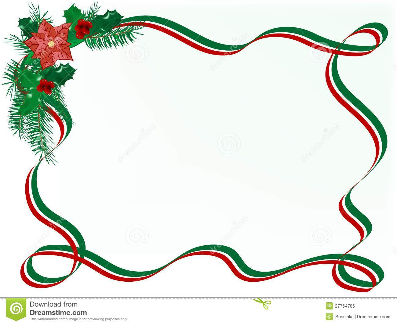 Christmas Garland Royalty Free Stock Photo   Image  27754785