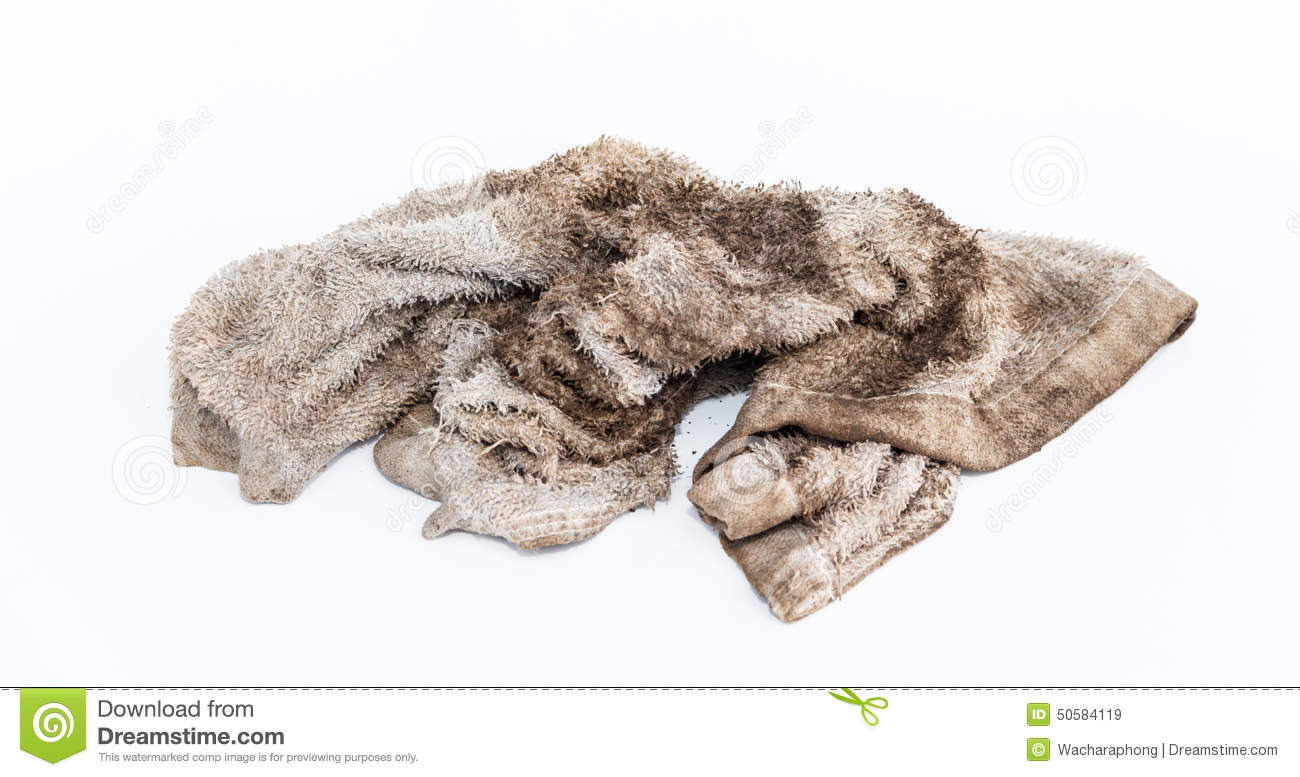 Dirty Rag Stock Photo   Image  50584119