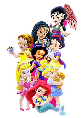 Disney Baby Princesses Clip