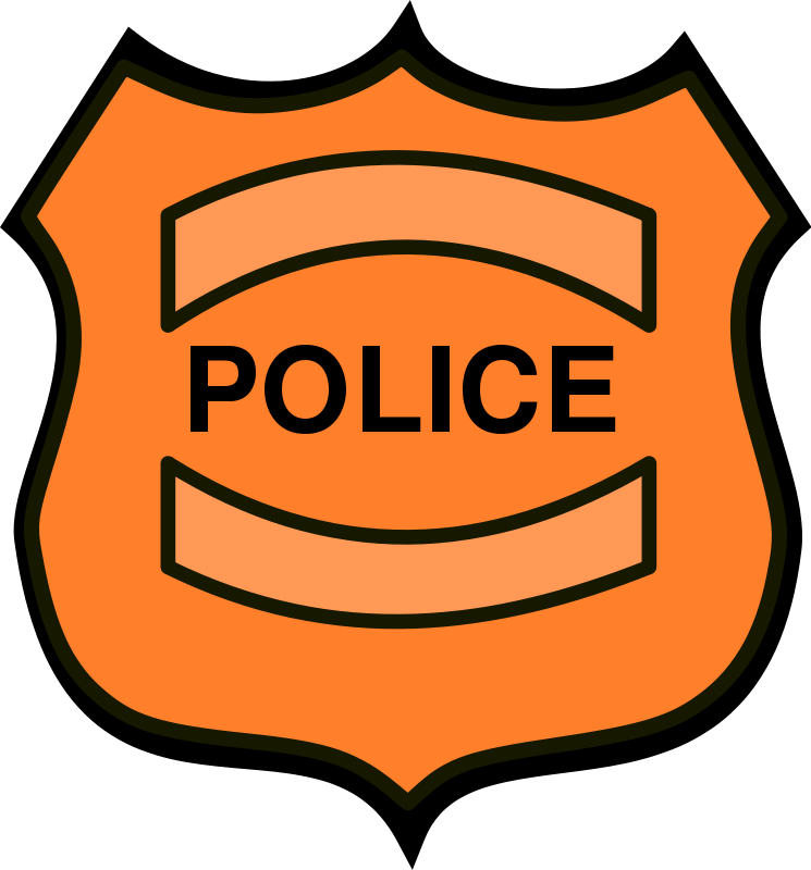 Free Police Badge Clip Art