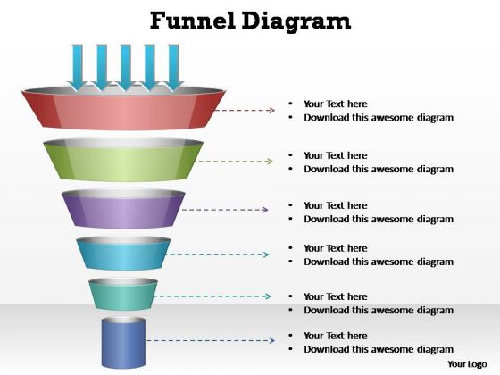 Funnel Graphic For Powerpoint Powerpoint Backgrounds Graphic