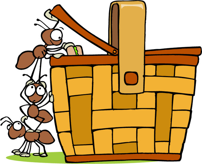 Picnic Basket With Ants Clip Art   Clipart Panda   Free Clipart Images