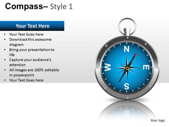 Ppt Graphics Compass Powerpoint Slides And Ppt Clipart