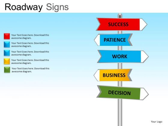 Signs Powerpoint Slides And Ppt Clipart Graphics   Powerpoint Diagram