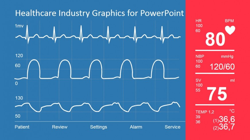 Vital Signs Monitor Clipart Graphics For Powerpoint   Slidemodel