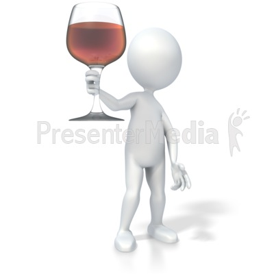 Wine Glass Toast   Home And Lifestyle   Great Clipart For