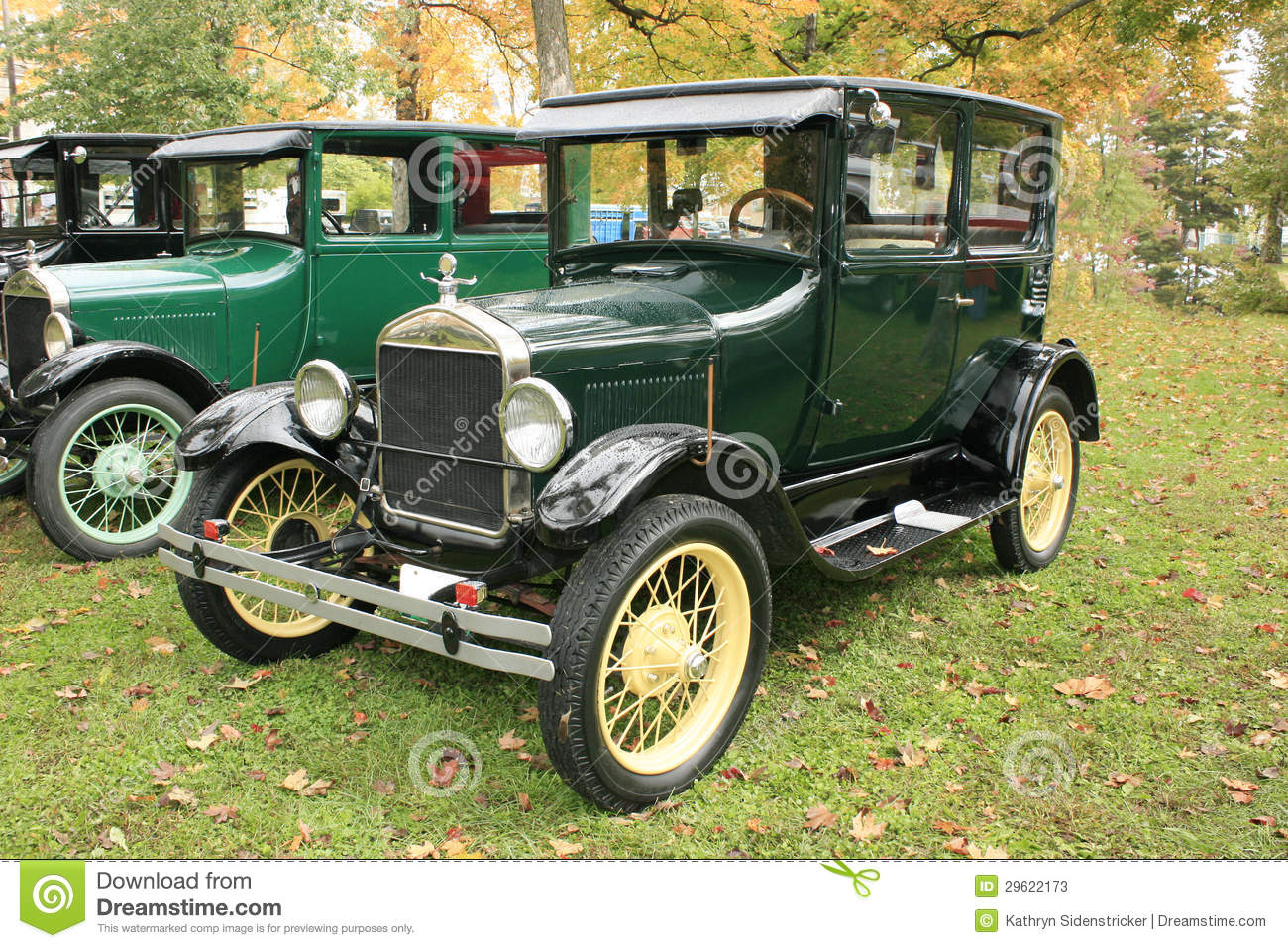 1927 Model T Ford Two Door Sedan Stock Photos   Image  29622173