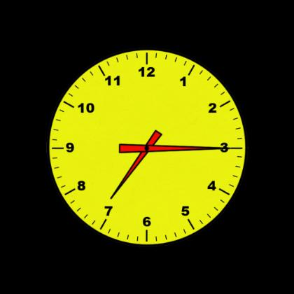 7 30 Clock Clipart - Clipart Kid