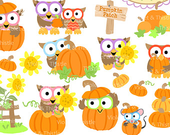 Apple Harvest Clipart Harvest Owl Clipart Harvest