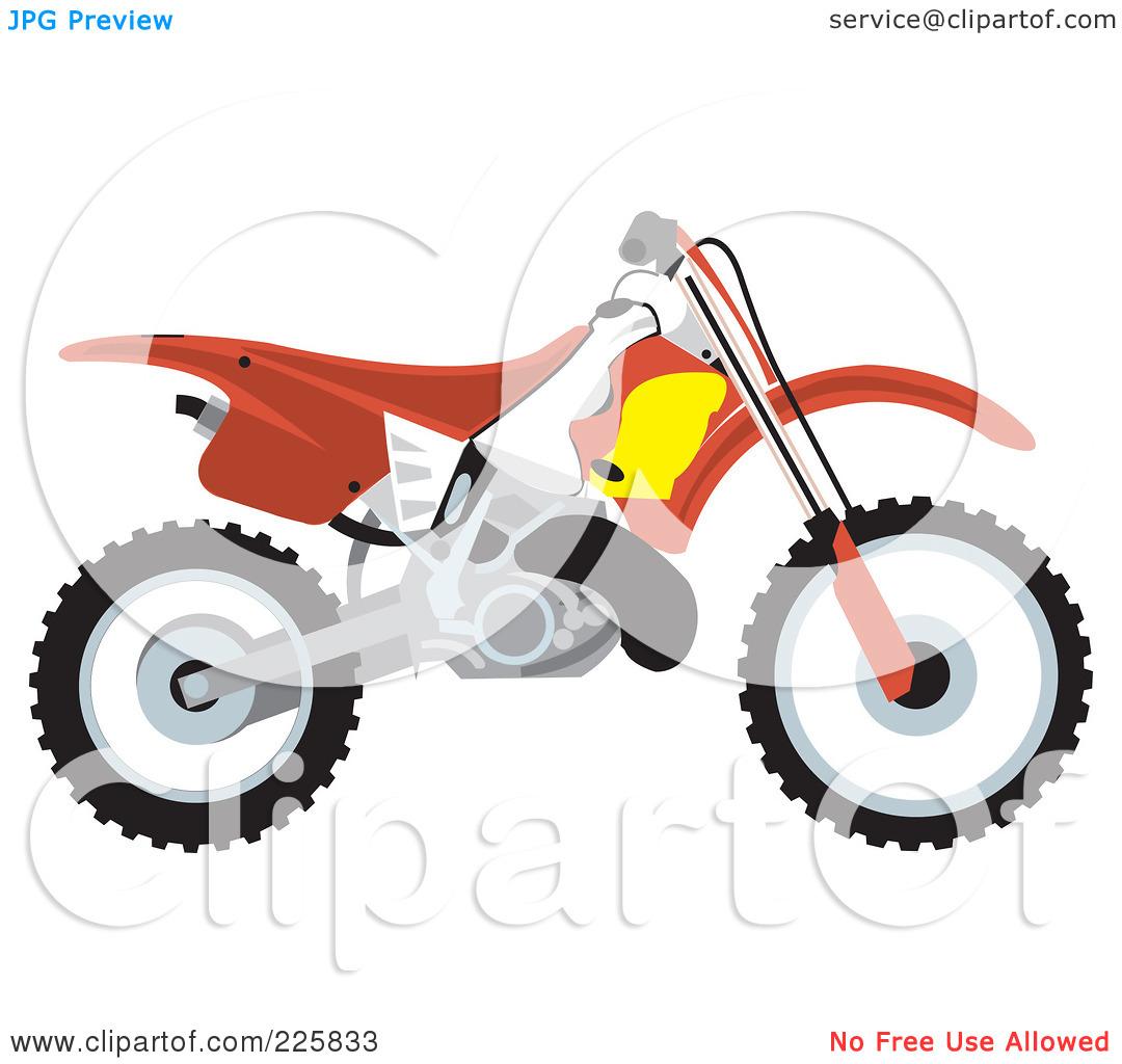 Blue Dirt Bike Clipart - Clipart Kid