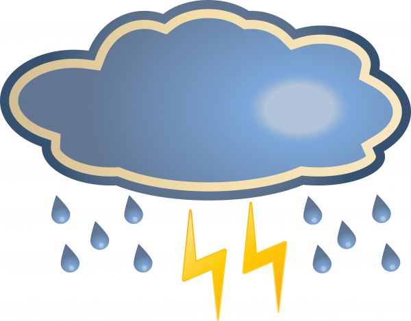 Clip Art Thunderstorm Clipart thunderstorm clipart kid cloud and panda free images
