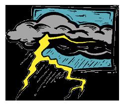 Clip Art Thunderstorm Clipart thunderstorm clipart kid free clip art