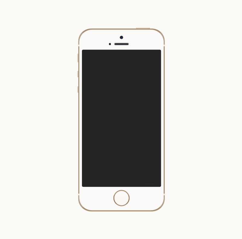 Gold Iphone 5s By Barrettward   A Fairly Accurate Gold Iphone 5s With