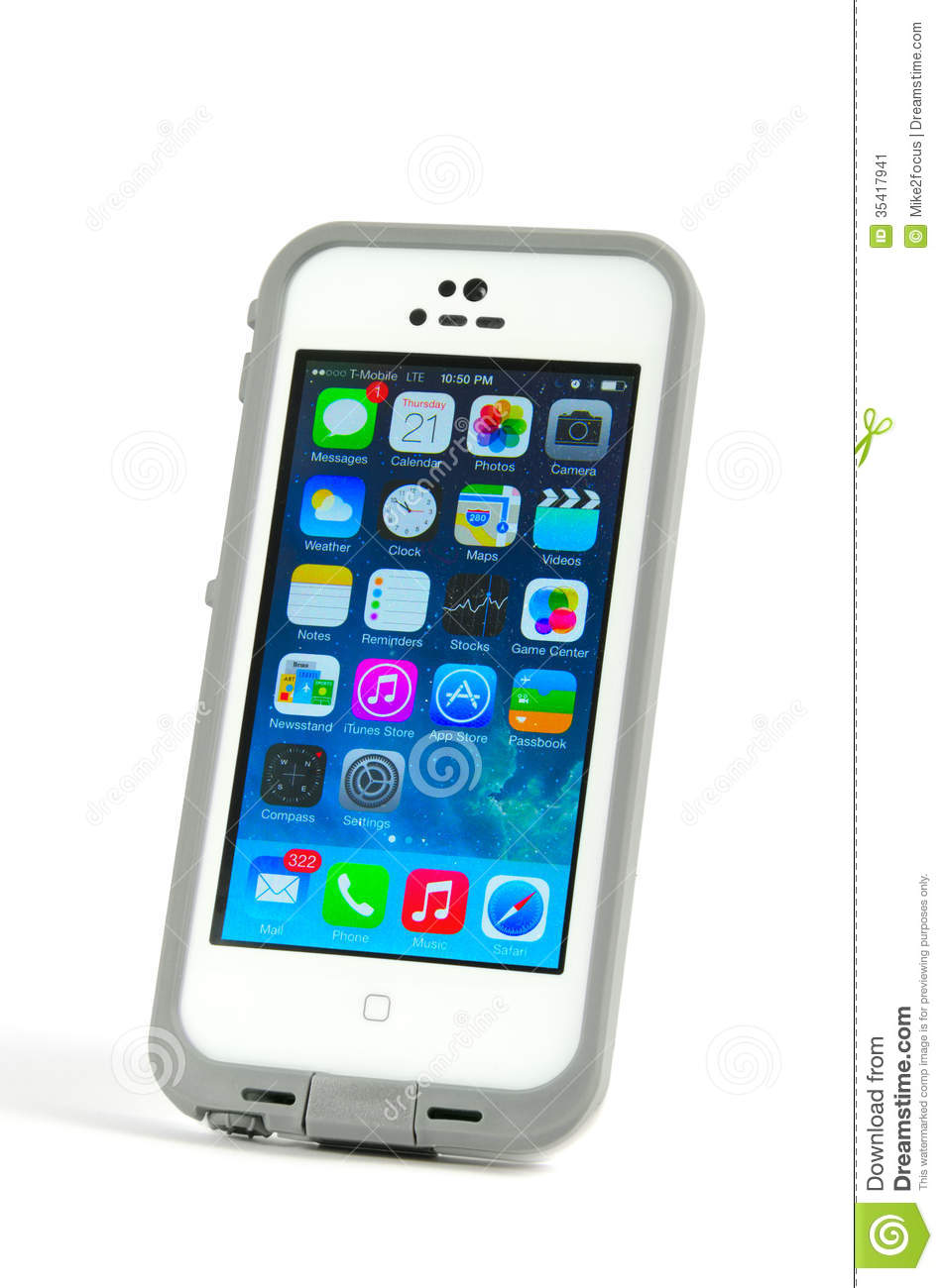 Iphone Clipart Apple Iphone 5s Cell Phone In