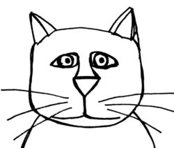 Line Drawing Cat Free Cliparts That You Can Download To You Computer